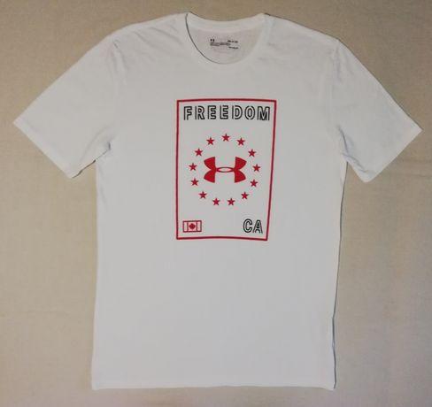 Under Armour UA Freedom оригинална тениска S памучна спортна фланелка