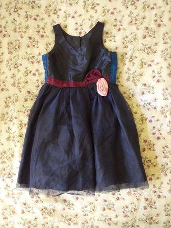 Rochiță albastră fete 5-6 ani zara