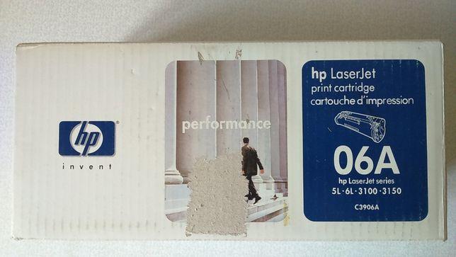 Картридж HP C3906A оригинал в коробке новый не распакованный