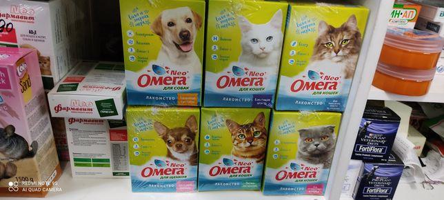 Витамины Омега для кошек и собак