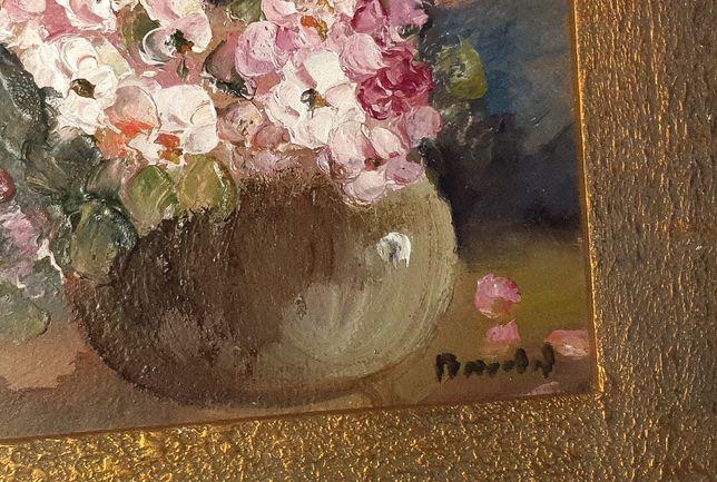 Tablou pictura interbelica Maria Bacaloglu - Flori de Mar