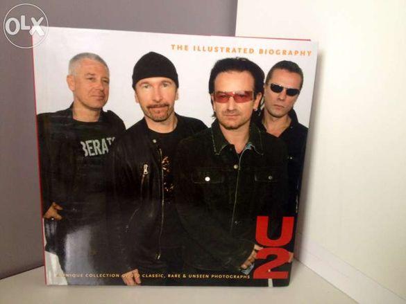 Книга U2-The Illustrated Autobigraphy