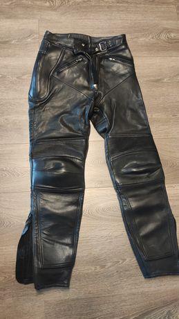 Pantaloni moto piele dama