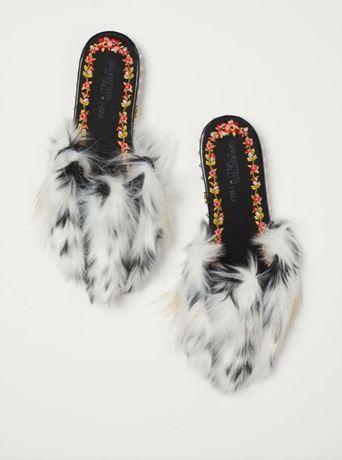 Saboti ( papuci) de piele Giambattista Valli x hm, 36