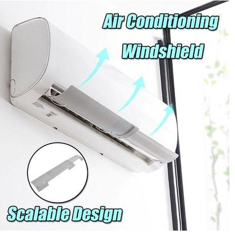Дефлектор за климатик защита от въздушна струя насочване