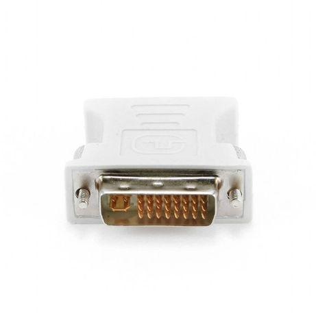 Переходник DVI-VGA штекер 24-pin на разъем VGA 15-pin