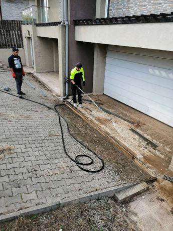 Desfundare canalizare cu presiune 24/7 - Pipera - Voluntari - Baneasa