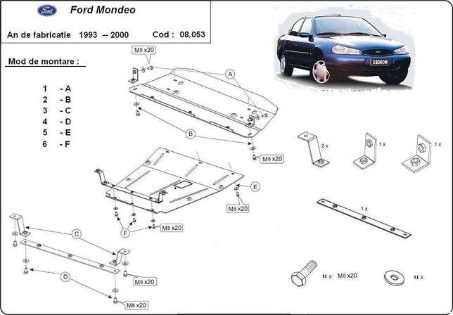 Scut metalic pentru motor Ford Mondeo 1993-2000 - otel 2mm