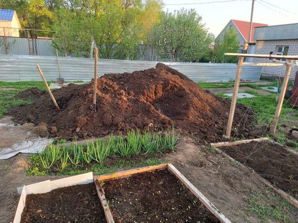 Продам мешками Чернозем навоз для сад