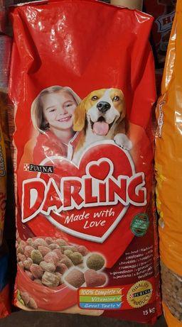 Purina Darling cu vita, Adult, Hrana uscata caine, 15kg
