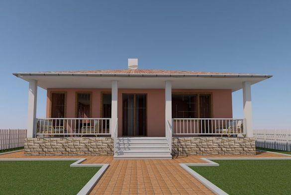 Продавам готов проект за къща ИЗГОДНО 140 кв.м ЗП Монолит САМО ПРОЕКТ.