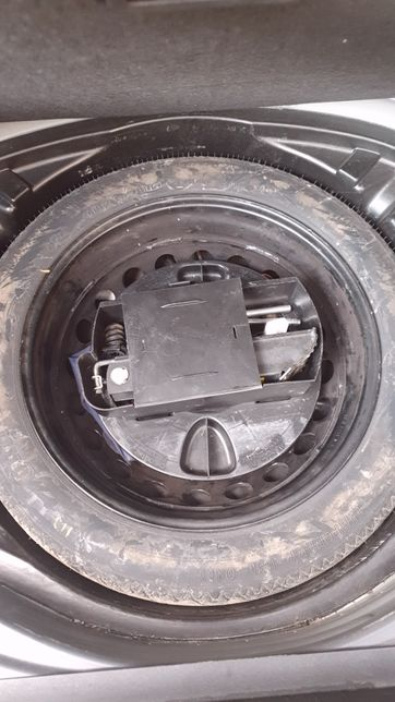 Roata de rezerva slim mercedes S class W221 noua cric cheie de roti