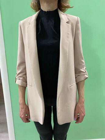 Zara женский пиджак/жакет в идеальном состоянии размер подходит XS,S,M