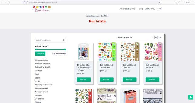 Domeniu .ro cu website activ