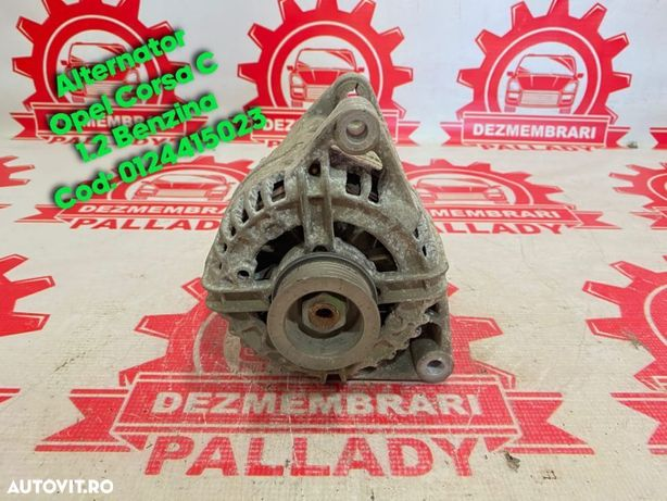 Alternator Opel Corsa C 1.2 Cod 0124415023