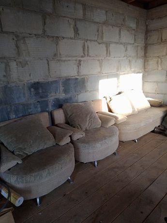 Продам диван+2 кресла-кровати