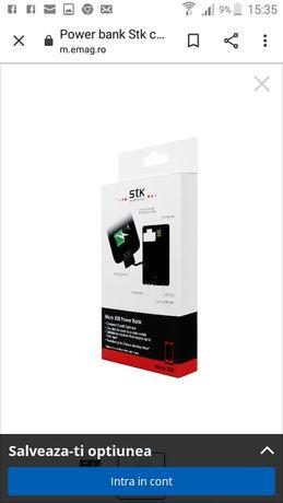 Power bank Stk card Micro usb 500 mah.