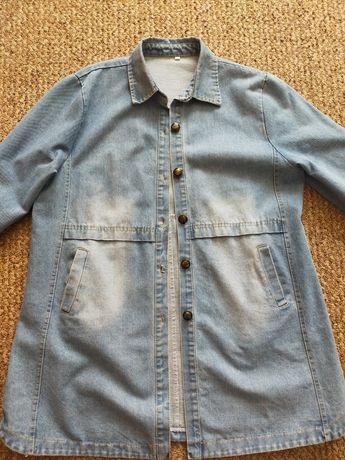 Куртка джинсовая оверсайз хорошего качества