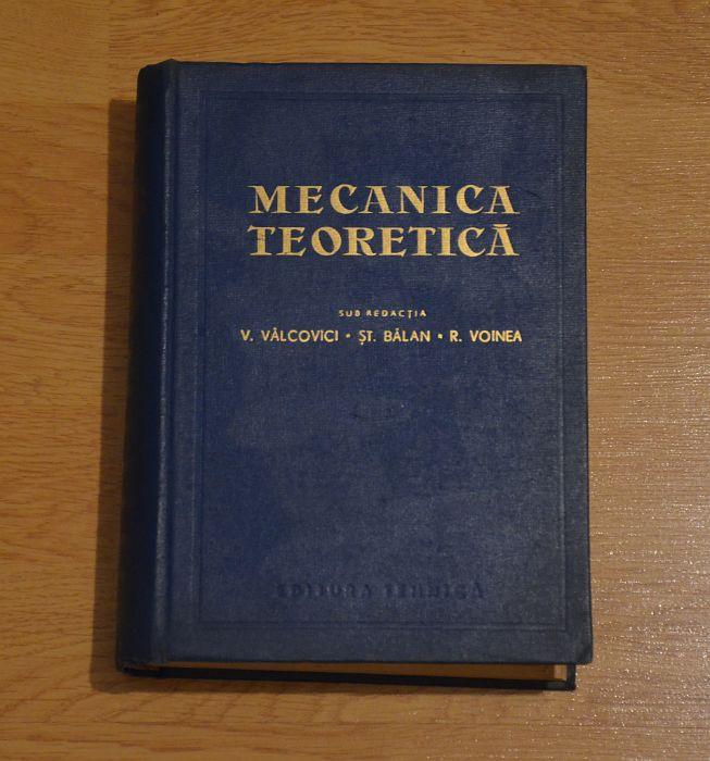 Mecanica Teoretica (1.000+ pagini - carte enorma!), Stare Foarte Buna! Bucuresti - imagine 1