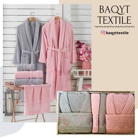 ТУРЕЦКОЕ постельное белье, банные наборы и полотенца