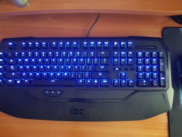 Геймърска механична клавиатура Roccat ryos mk glow