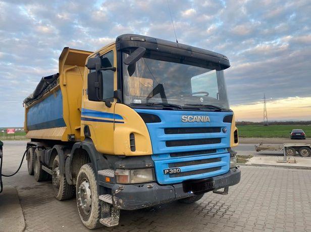 Inchiriem trakker Scania 8x4