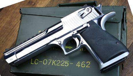 Stoc Limitat!Pistol Airsoft Desert Eagle Ed.lim Silver Full METAL Co2