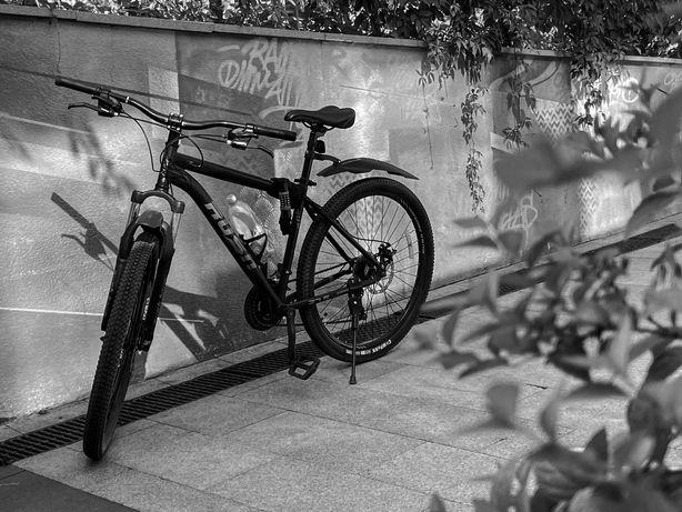 Велоспиед Rush 27.5 черный. В хорошем состояний.