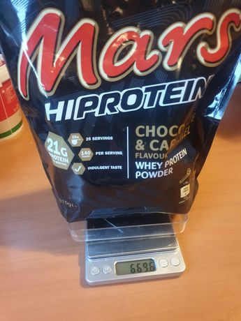 Mars Hiprotein CHICOLATE& CARAMEL Whey