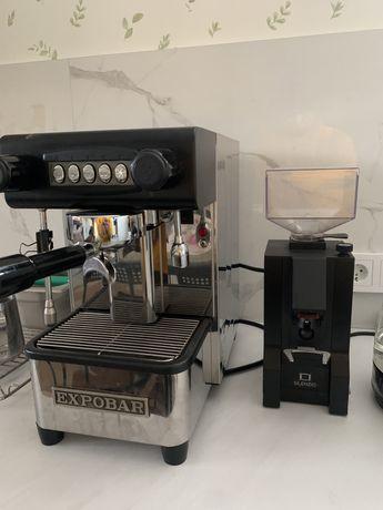 Кофемашина Expobar + кофемолка Eureca
