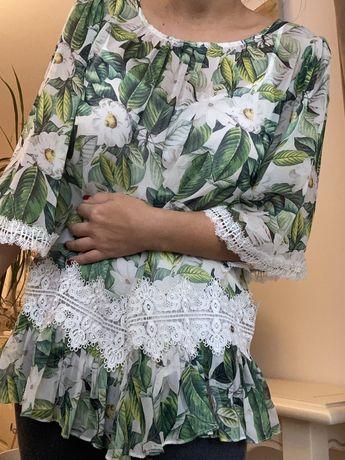 Bluza NISSA, din matase, marimea 36-38