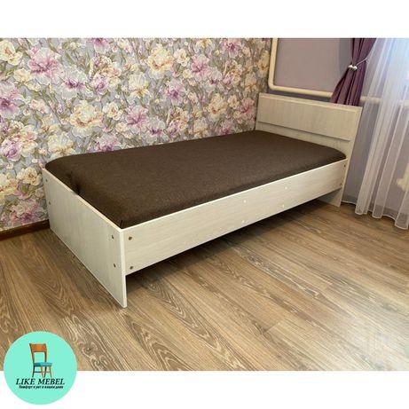 Кровать односпалка, односпальная купить,на заказ+Доставка Төсек Мебель