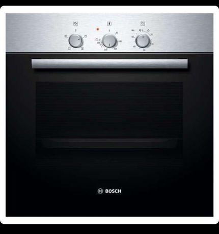 Духовой шкаф Bosch HBN211E4 серебристый-черный