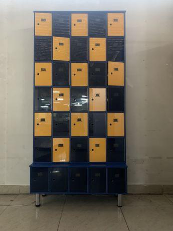 Шкафы-ячейки для личных вещей