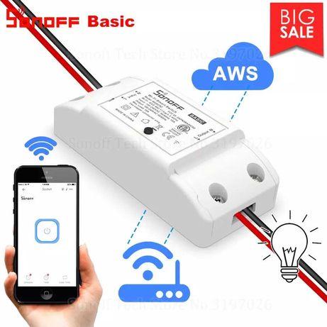 Wi Fi Smart Switch Sonoff (Wi-Fi ключ) ,смарт умен контакт, реле
