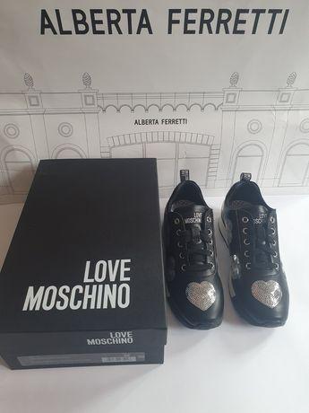 Дамски маратонки Love Moschino 100% Оригинал !!!