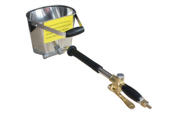 Masina de tencuit pneumatica Detools DZ-C202
