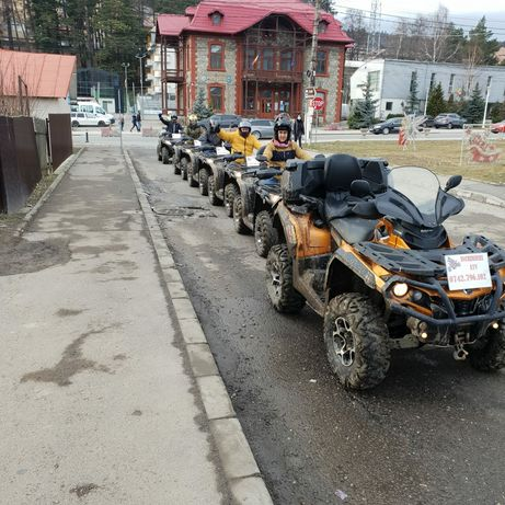 Inchirieri ATV, Sinaia, Busteni, Predeal, Azuga