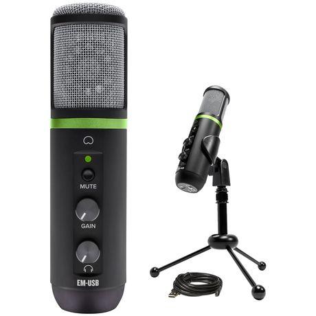 Студийный микрофон Mackie Element EM-USB