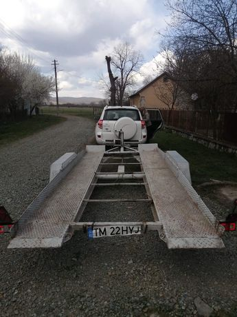 Platforma auto slep inmatriculat ro