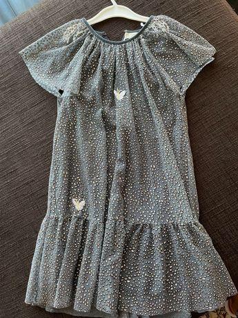 Детска рокличка на Зара за 9 г., официална