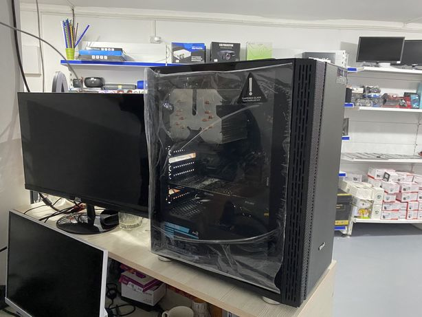 Игровой Мощный ПК Intel Core i7 8700/ 16Gb/ SSD120Gb/ 8Gb видеокарта