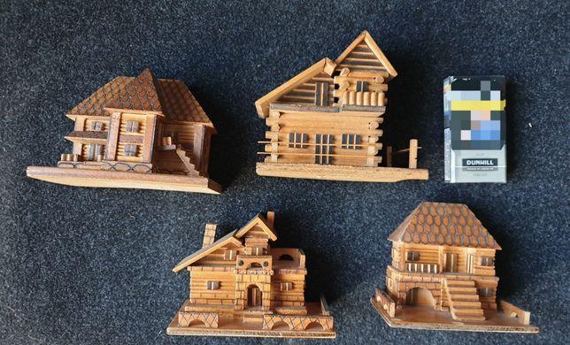 Macheta case/cabane lemn