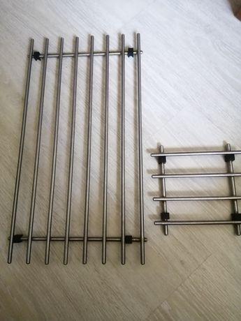 Grătare inox - suport recipient fierbinte