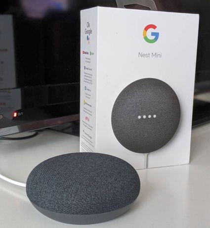 Умен говорител Google Nest - Асистент 2ра генерация