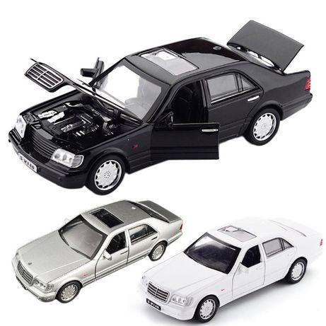 Машинка металлическая Mercedes-Benz S W140. Игрушка Мерседес машинки.
