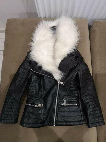 Зимно кожено якенце