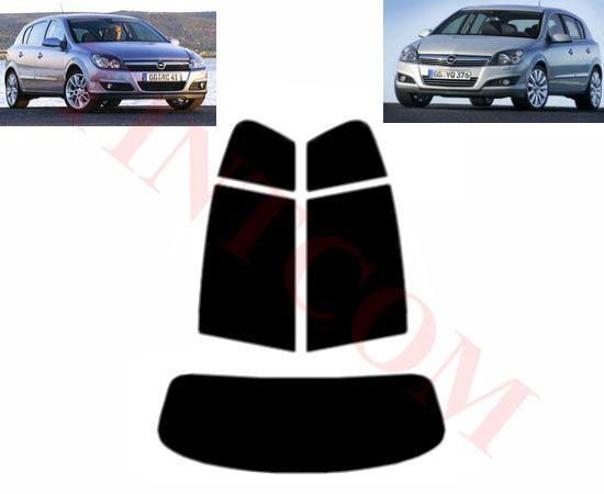 Opel Astra H (5 врати, хечбек, 04 - 09) Фолио за затъмняване на стъкла