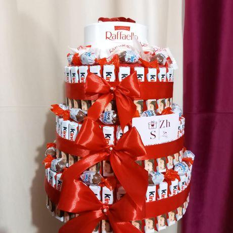 Романтические подарки подарок девушке возлюбленной, жене киндер торт