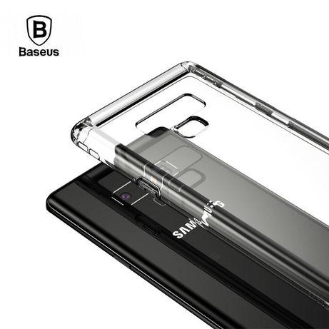 BASEUS силиконов прозрачен кейс калъф Samsung Galaxy Note 9, 10, Plus